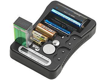 tka batteriemessger t digitaler profi batterietester mit lcd anzeige f r g ngige batterien. Black Bedroom Furniture Sets. Home Design Ideas