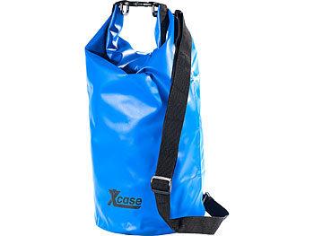 Wasserdichter Packsack 16 Liter, blau / Packsack