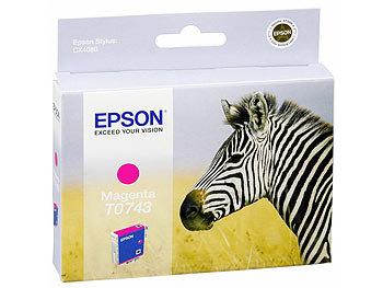 epson original tintenpatrone t074340 magenta. Black Bedroom Furniture Sets. Home Design Ideas