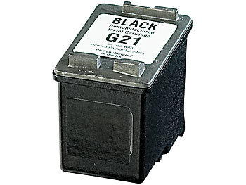 Recycled Cartridge für HP (ersetzt C9351AE No.21), black HC 18ml recycled / rebuilt by iColor Recycled HP Druckerpatronen