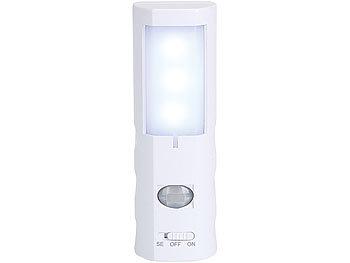 lunartec sensorlicht led nachtlicht mit bewegungs sensor batterie betrieben bewegungssensor. Black Bedroom Furniture Sets. Home Design Ideas