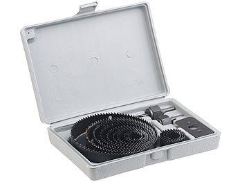 Sehr AGT Lochsägenset: Lochsägen-Set im Aufbewahrungs-Koffer, 16-teilig GM06