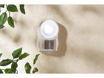 lunartec batterie led leuchte led leuchte mit bewegungs d mmerungssensor led leuchte mit. Black Bedroom Furniture Sets. Home Design Ideas