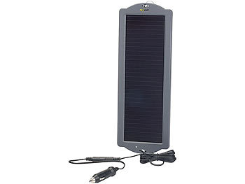 revolt Solar Batterieladegerät: Erhaltungs Solargerät für