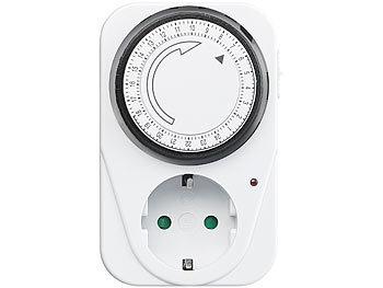 weiß Schaltabstand 15 Minuten analog Steckdosen Zeitschaltuhr 230V // 16A