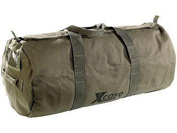 Canvas-Sport- und Reisetasche mit Tragegriff, 70 Liter / Reisetasche