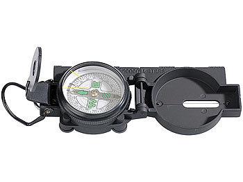 Robuster Kompass mit Metallgehäuse / Kompass