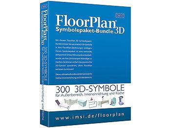 Floorplan Symbolepaket-Bundle 3D / Software