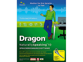 Dragon naturally speaking 10 Preferred Wireless Dragon naturally speaking