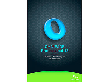 Nuance/SCANSOFT Omnipage Professional 18 Nuance/SCANSOFT