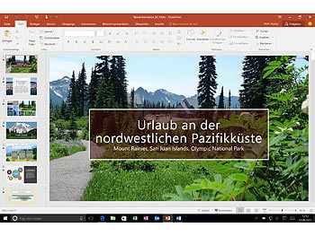 Microsoft Office 365 Personal 1 Jahresabonnement (1 Benutzer, ProductKeyCard) Microsoft Office-Pakete (PC-Softwares)