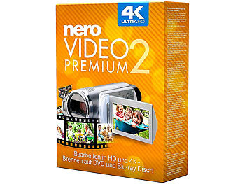 Nero Video Premium 2 Nero Videobearbeitung (PC-Softwares)