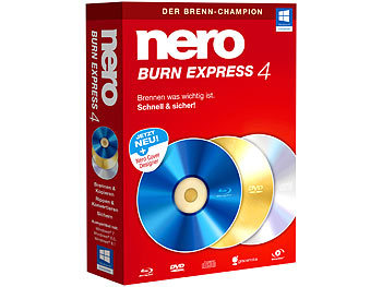 Nero Burn Express 4 Nero Brennprogramme & Archivierungen (PC-Softwares)