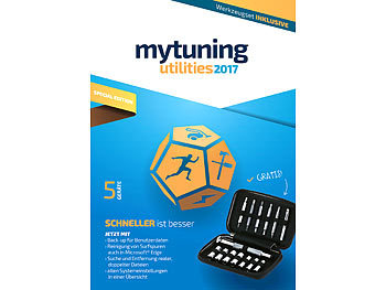 S.A.D. myTuning utilities 2017 Special Edition - 5 Geräte, inkl. Werkzeug-Set S.A.D. Systemoptimierung (PC-Software)