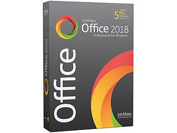 Office 2018 Professional für Windows (für 5 Privat-PCs) / Software