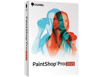 Bildgestaltung-Software: Corel Paintshop Pro 2019 (Crossgrade/Upgrade)