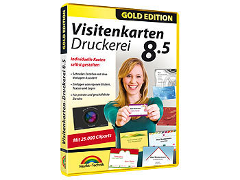 Visitenkarten-Druckerei 8.5 Gold Edition / Software