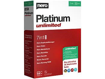 Platinum Unlimited / Software