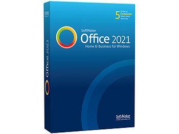 Office 2021 Home & Business für Windows (Lizenz für 5 Privat-PCs) / Software