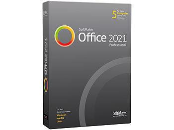 Office 2021 Professional für Windows (Lizenz für 5 Privat-PCs) / Software