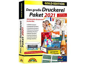Das grosse Druckereipaket 2021 - Gold Edition / Software