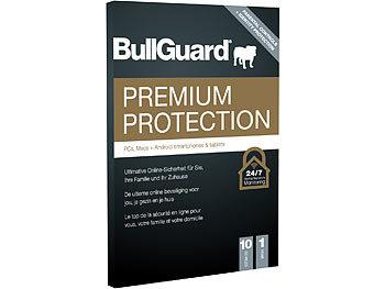 Premium Protection 2021, Jahreslizenz für bis zu 10 Geräte / Antivirus