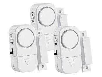 3er-Set Mini-Tür- und Fensteralarme, 95 db, 2 Jahre Batterielaufzeit / Fensteralarm