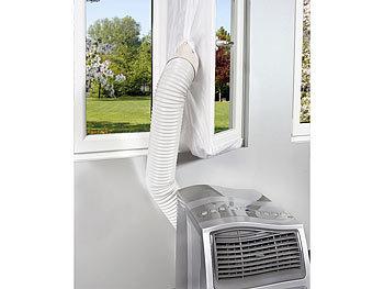 Fensterdurchführung für klimaanlage