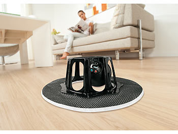robomop kabelloser bodenwischroboter inkl 5 vliest chern. Black Bedroom Furniture Sets. Home Design Ideas