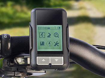 navgear fahrrad outdoor gps oc 500 mit sportcomputer. Black Bedroom Furniture Sets. Home Design Ideas