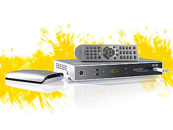 auvisio Digitaler Satelliten-Receiver mit HDMI & USB-Recorder bis 1TB auvisio