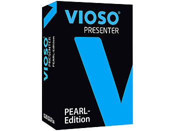 VIOSO Presenter-Software für Mixed-Media-Präsentationen PEARL-Edition LED Beamer