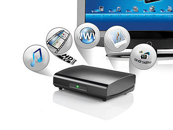 "Meteorit HDMI-Multimedia- & Web-Box ""MMB-22.HDTV"" Android 2.2 Meteorit"