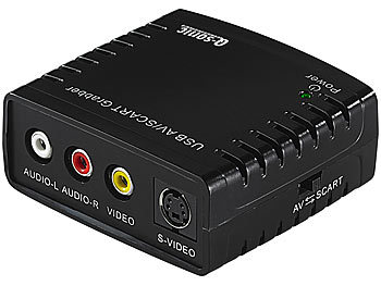 Q-Sonic USB-Video-Grabber VG-310 zum Video-Digitalisieren Q-Sonic USB-Video-Grabber