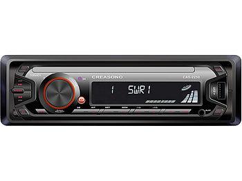 MP3-RDS-Autoradio CAS-2250 mit USB-Port & SD-Slot, 4x 45 W / Autoradio