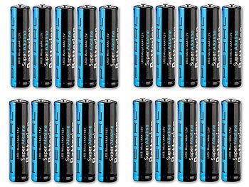 PEARL AAA 1 5V Batterien: Super Alkaline Batterien Typ AAA