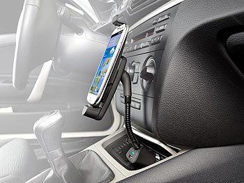 callstel auto handyhalter kfz smartphone schwanenhals. Black Bedroom Furniture Sets. Home Design Ideas