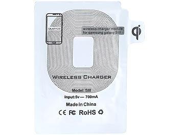 callstel induktion ladeger t induktions ladeset qi kompatibel receiver pad f r samsung galaxy. Black Bedroom Furniture Sets. Home Design Ideas