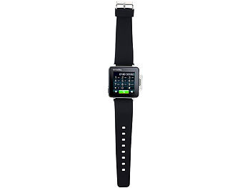 simvalley MOBILE Handy-Uhr PW-315.touch Uhrenhandy simvalley MOBILE Handy-Uhren