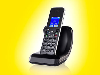 simvalley communications DECT-Schnurlostelefon FNT-1088.bt, GAP & Bluetooth simvalley communications DECT Telefone