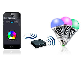 CASAcontrol LED Lampe WLAN: WiFi Beleuchtungs System