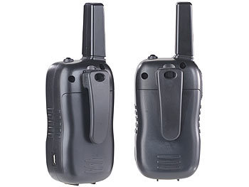 simvalley walky talky walkie talkie set m vox 5 km. Black Bedroom Furniture Sets. Home Design Ideas