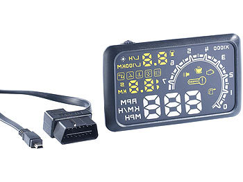lescars obd display head up display hud 55c f r obd2. Black Bedroom Furniture Sets. Home Design Ideas