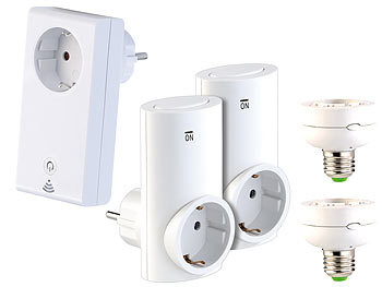 "CASAcontrol Smart-Home-Systeme Smart WiFi Starter-Set CASAcontrol Smart Home ""Smart WiFi"" Haussteuerung-Sets"