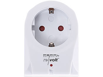 2-Fach-Steckdose und 2-Fach-USB-Netzteil 2in1 Steckdose 2,1 Ampere reVolt Steckdosenadapter