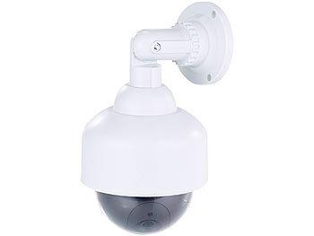 visortech attrappe kamera dome berwachungskamera attrappe durchsichtige kuppel wandhalterung. Black Bedroom Furniture Sets. Home Design Ideas