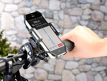 Callstel Fahrrad Halterung mit Gummifixierung für