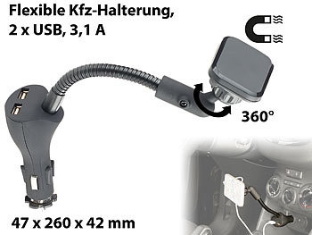 callstel magnethalterung flexible kfz magnet halterung. Black Bedroom Furniture Sets. Home Design Ideas