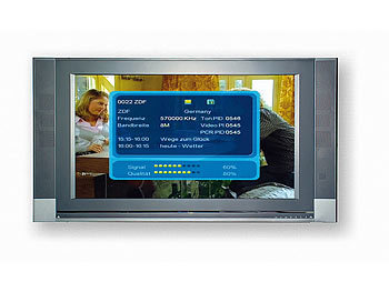 auvisio 4in1 DVB-T-Recorder mit Receiver und MP3- & Video-Player auvisio