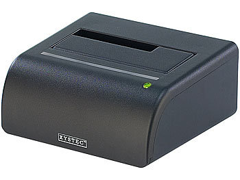 "Xystec USB-Docking-Station für 2,5""- & 3,5""-SATA-Festplatten Xystec Festplatten Dockingstations"
